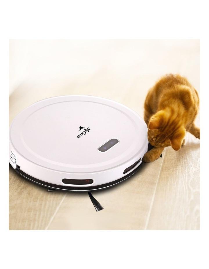 MyGenie Pet Smart Robotic Vacuum Cleaner - White image 5