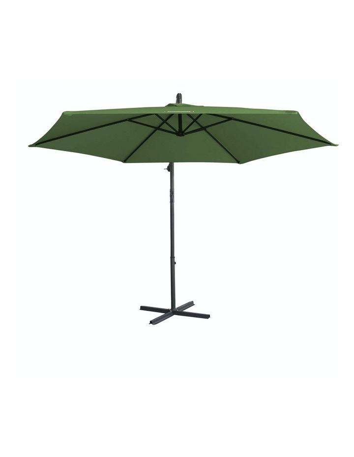 Outdoor - Outdoor 3 Meter Hanging and Folding Umbrella - Green image 1