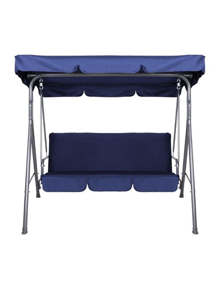 Outdoor Steel Swing Chair - Dark Blue (1 Box) image 1