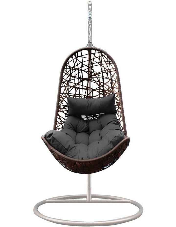 Egg Chair - Oatmeal and Grey image 1