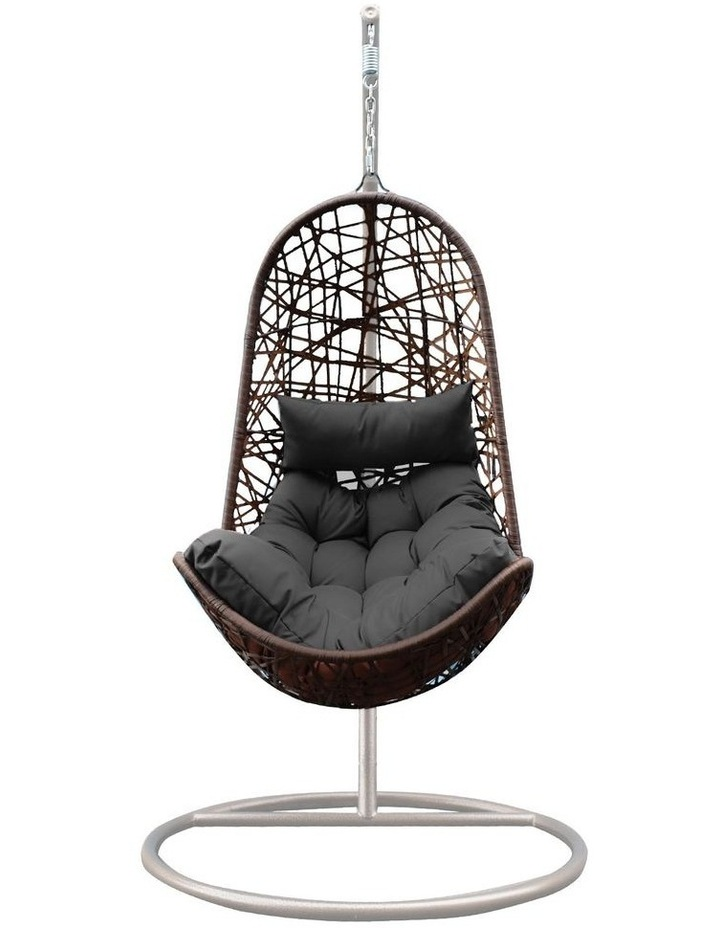 Egg Chair - Oatmeal and Grey image 4