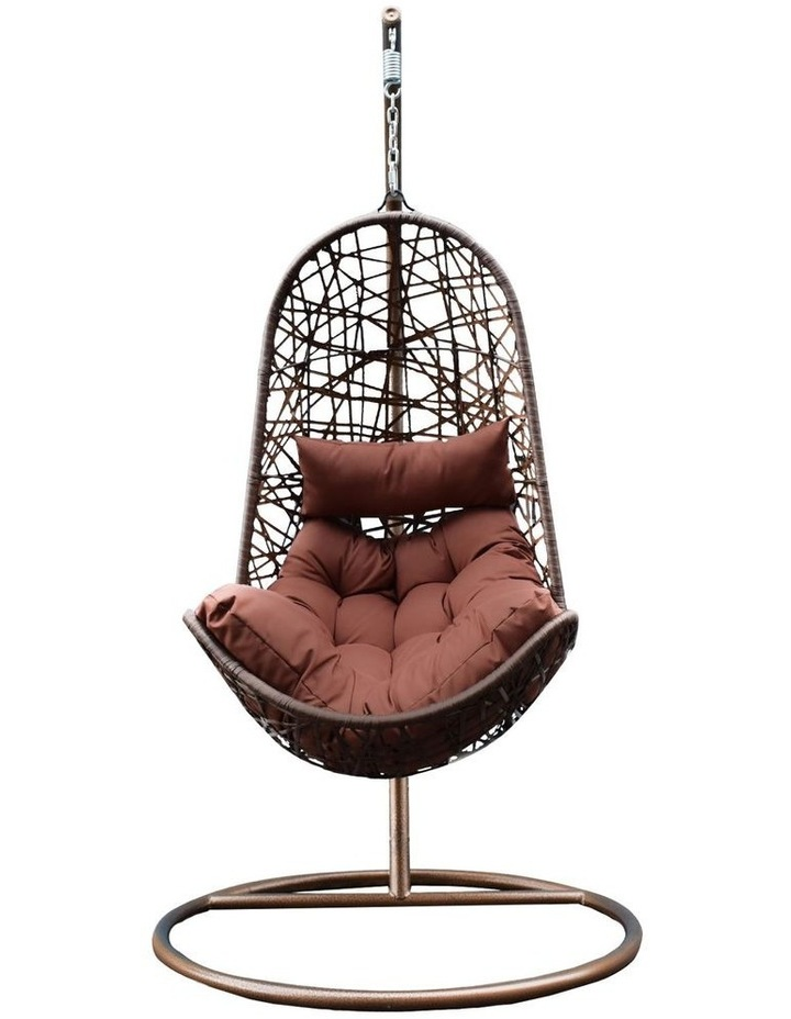 Egg Chair - Brown and Coffee image 1