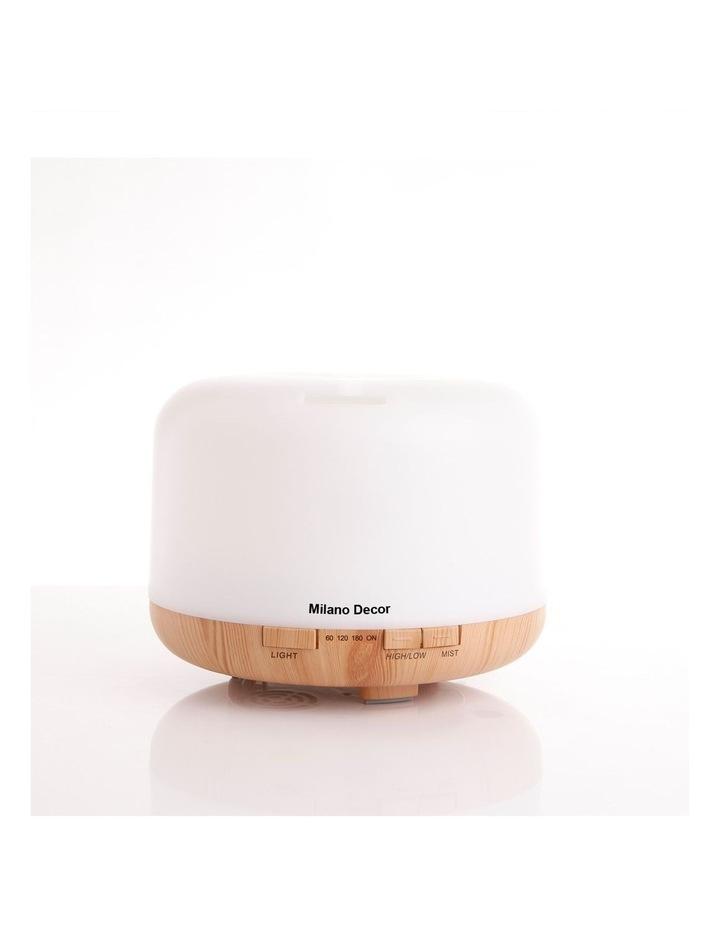 500ml Aroma Mood Light Diffuser Light Wood image 1