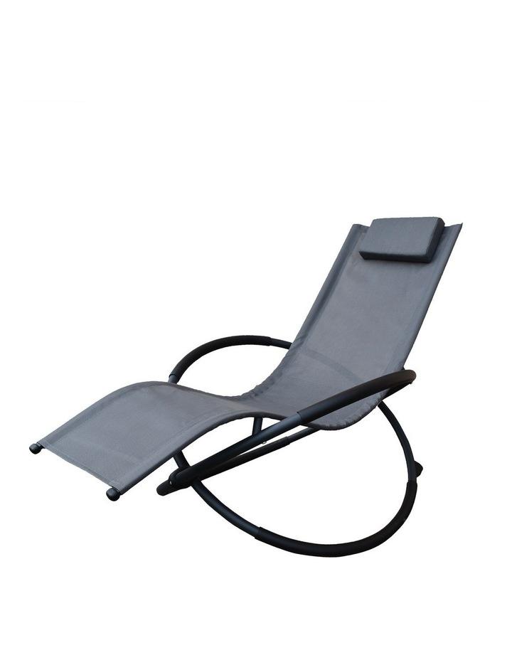 Zero Gravity Rocking Chair  - Grey image 1