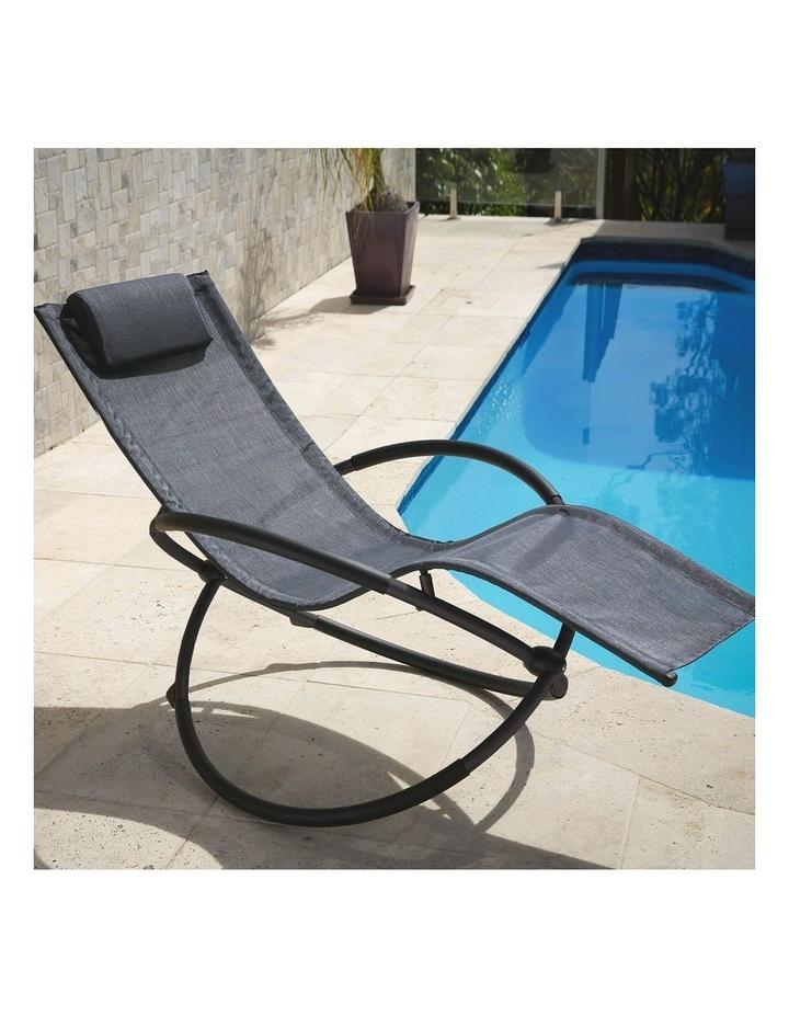 Zero Gravity Rocking Chair  - Grey image 4