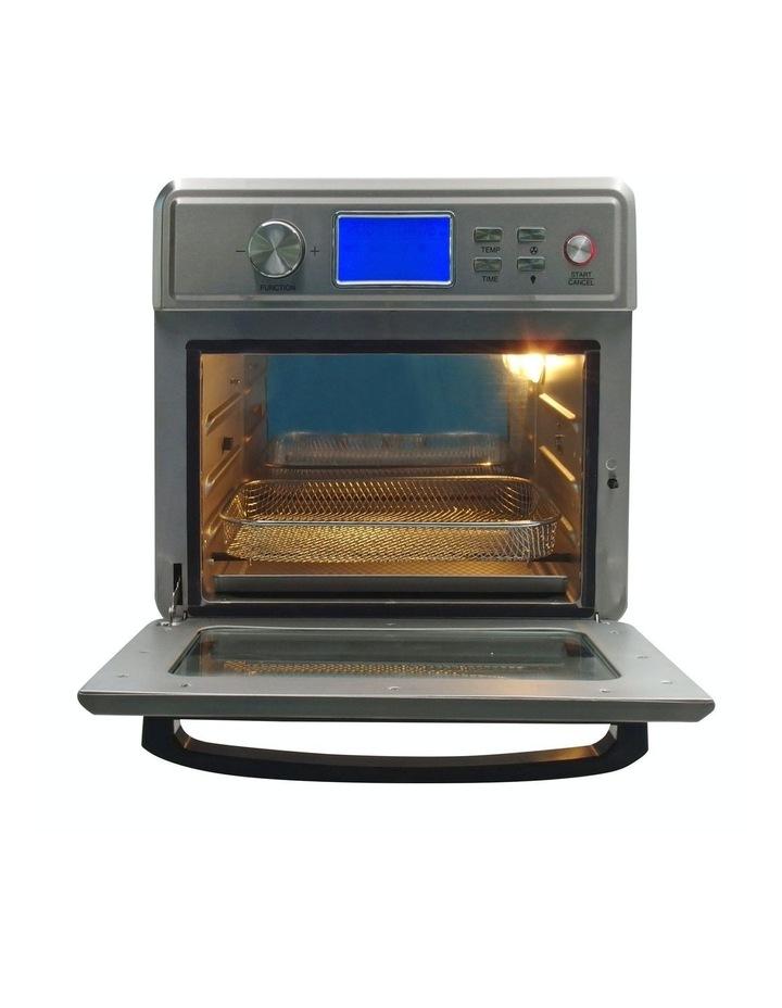 24 Litre Air Fryer Multifunctional LCD Digital Display Silver image 4