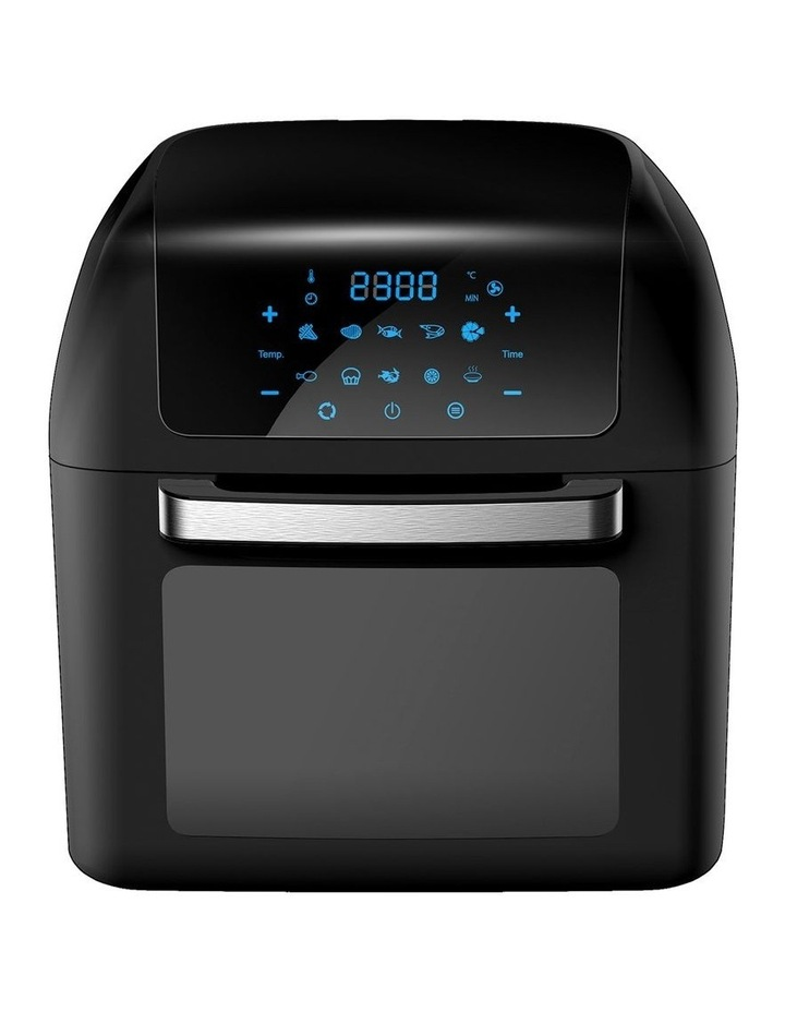 Healthy Options Air Fryer 10 Presets LCD Display 13 Litre Black image 1