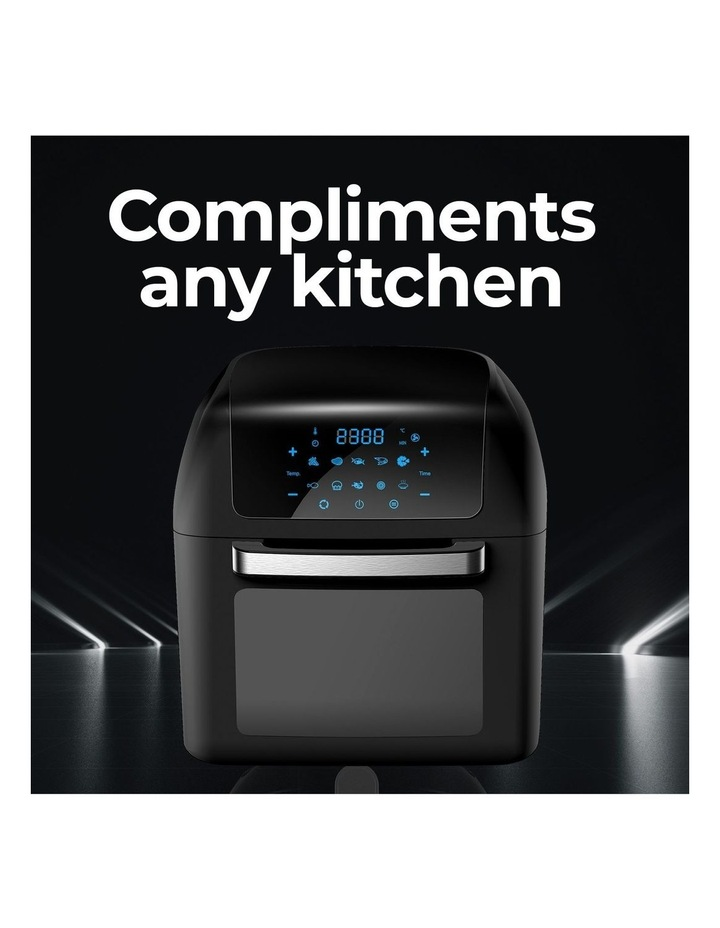 Healthy Options Air Fryer 10 Presets LCD Display 13 Litre Black image 2