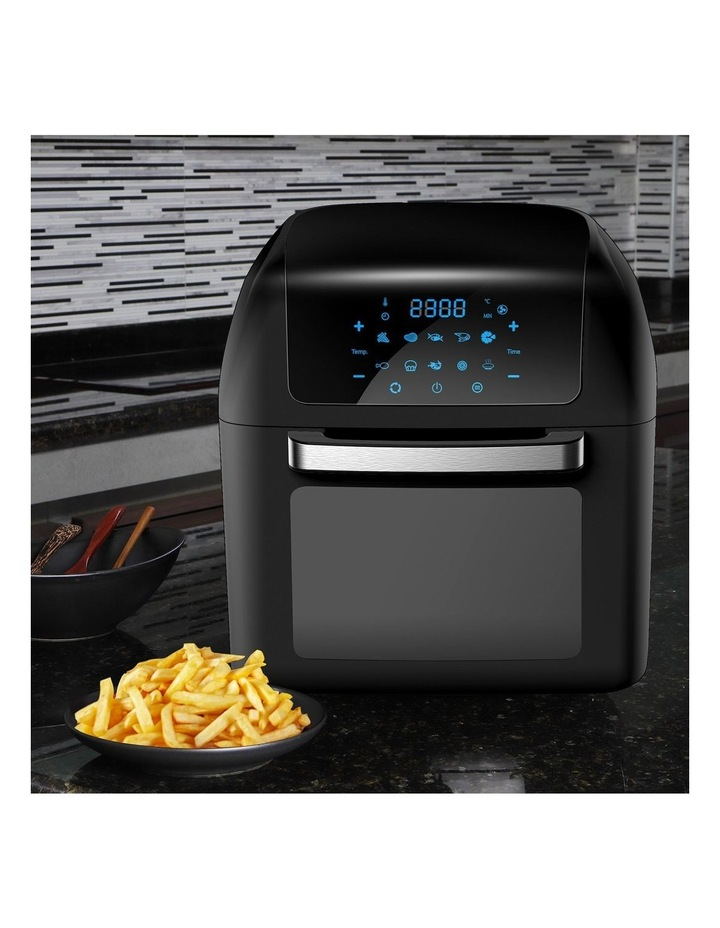 Healthy Options Air Fryer 10 Presets LCD Display 13 Litre Black image 3