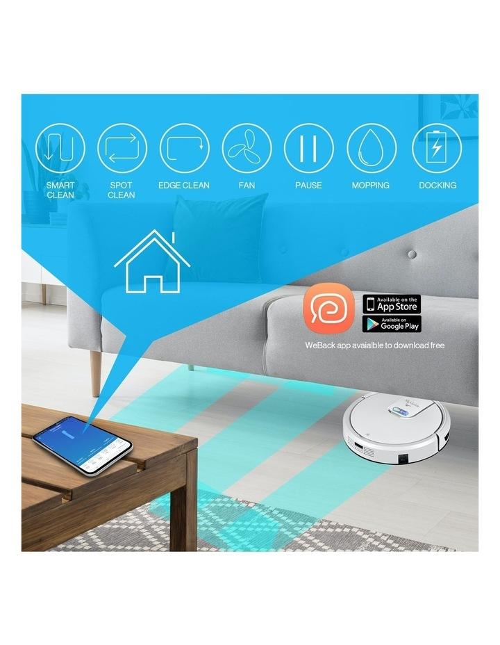 Robotic Vacuum Cleaner Mop App Control Dry & Wet Auto Robot WI-FI GMAX image 2