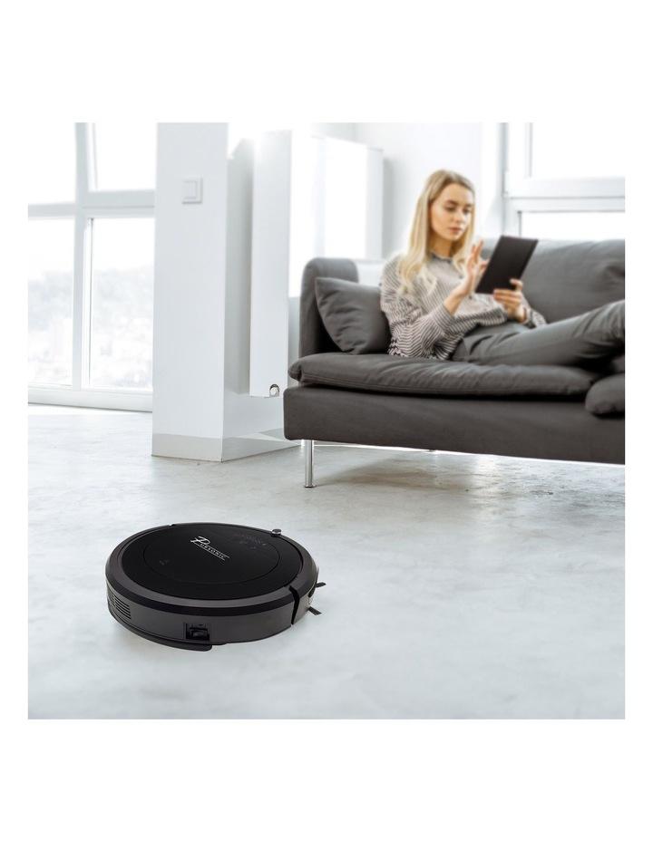 Robotic Vacuum Cleaner Carpet Floor Dry Wet Mopping Auto Robot Black  i9 image 2