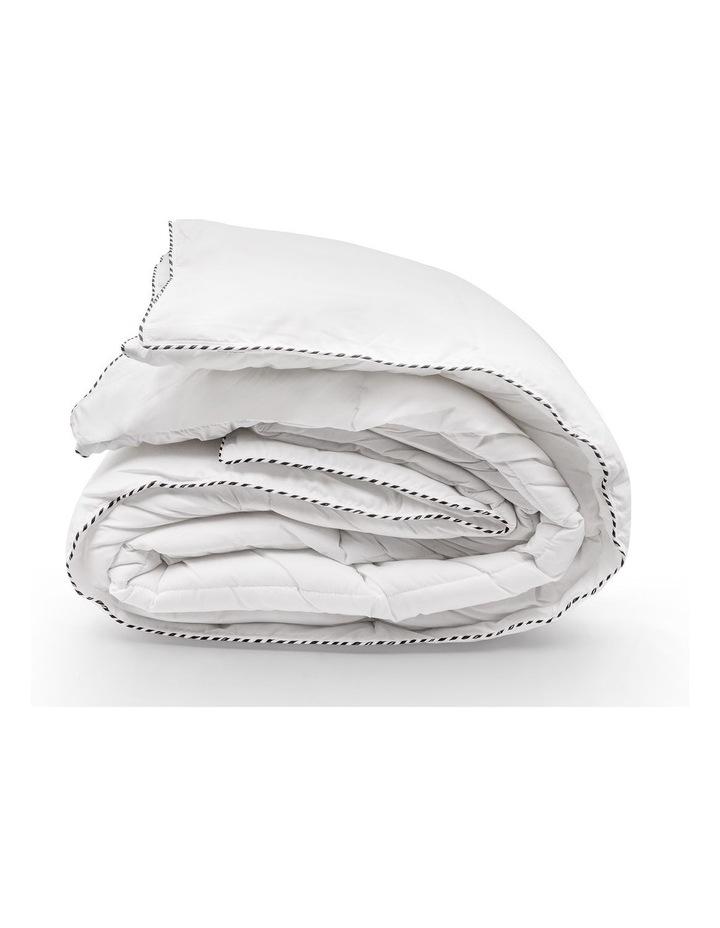 Royal Comfort Bamboo Blend Quilt 250GSM Luxury Doona Duvet 100% Cotton Cover image 1