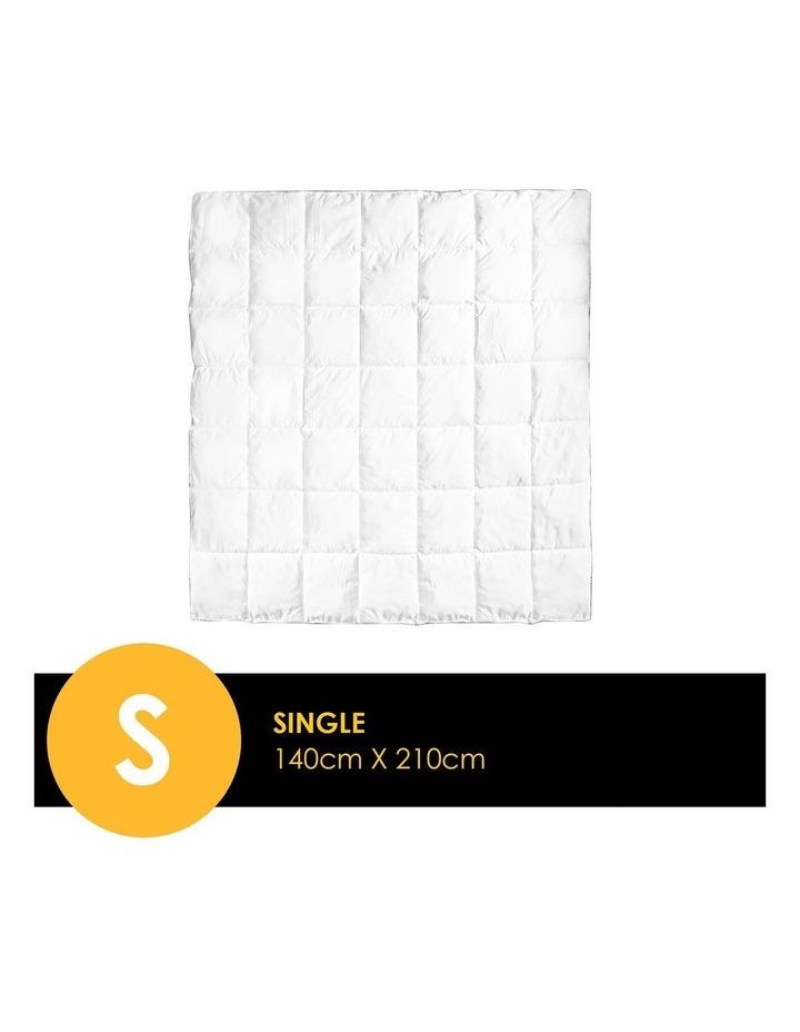 Royal Comfort Bamboo Blend Quilt 250GSM Luxury Doona Duvet 100% Cotton Cover image 4