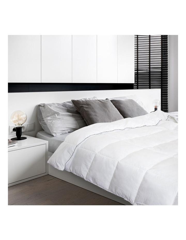 Royal Comfort Bamboo Blend Quilt 250GSM Luxury Doona Duvet 100% Cotton Cover image 5