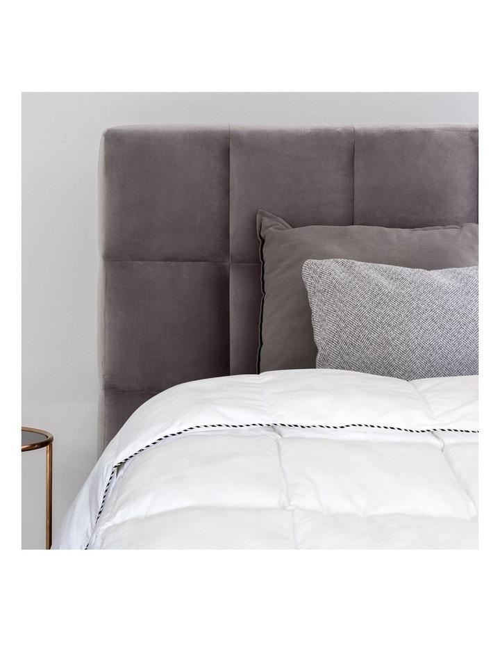 Royal Comfort Bamboo Blend Quilt 250GSM Luxury Doona Duvet 100% Cotton Cover image 6