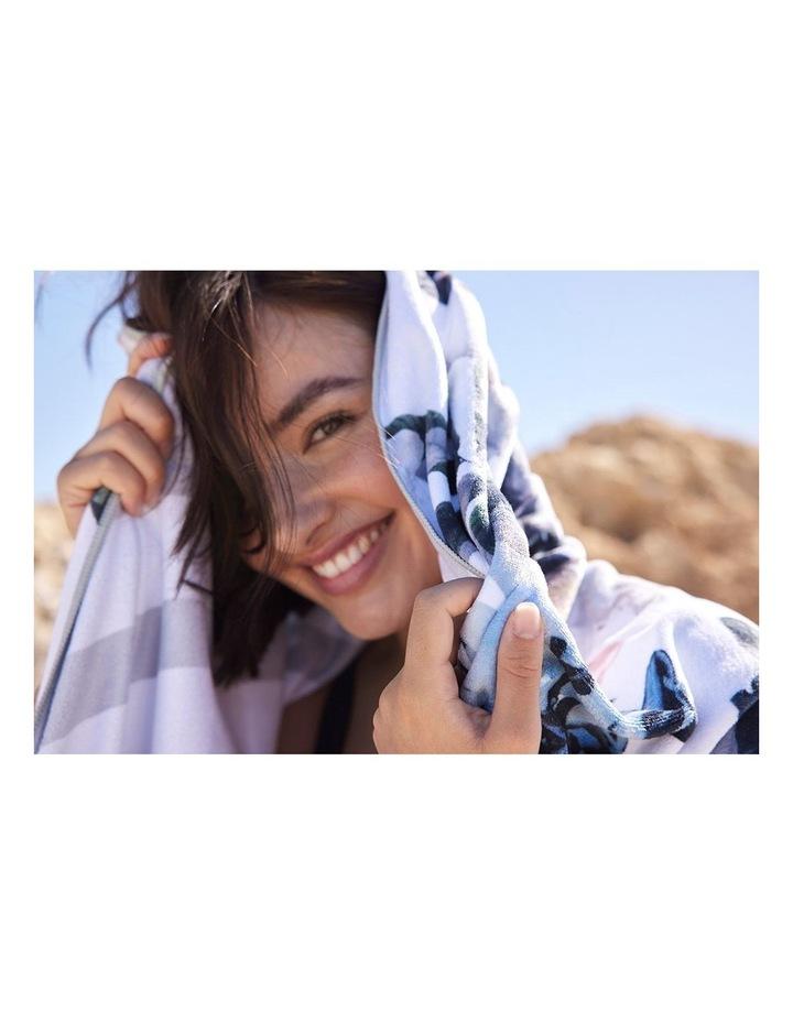 Footloose Large Microfibre Beach Towel - Bloom image 3