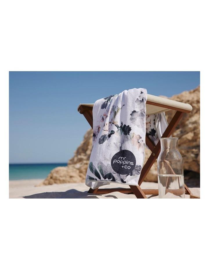 Footloose Large Microfibre Beach Towel - Bloom image 6
