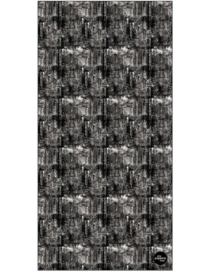 Footloose Large Microfibre Beach Towel - Coal image 1
