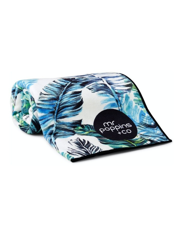 Footloose Large Sand Free Microfibre Beach Towel - Feather image 1