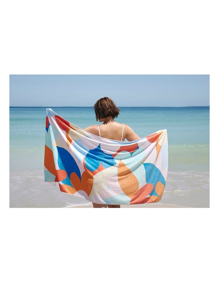 Footloose Large Microfibre Beach Towel - Riviera image 2