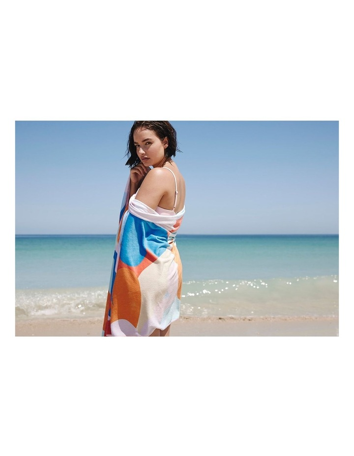 Footloose Large Microfibre Beach Towel - Riviera image 3