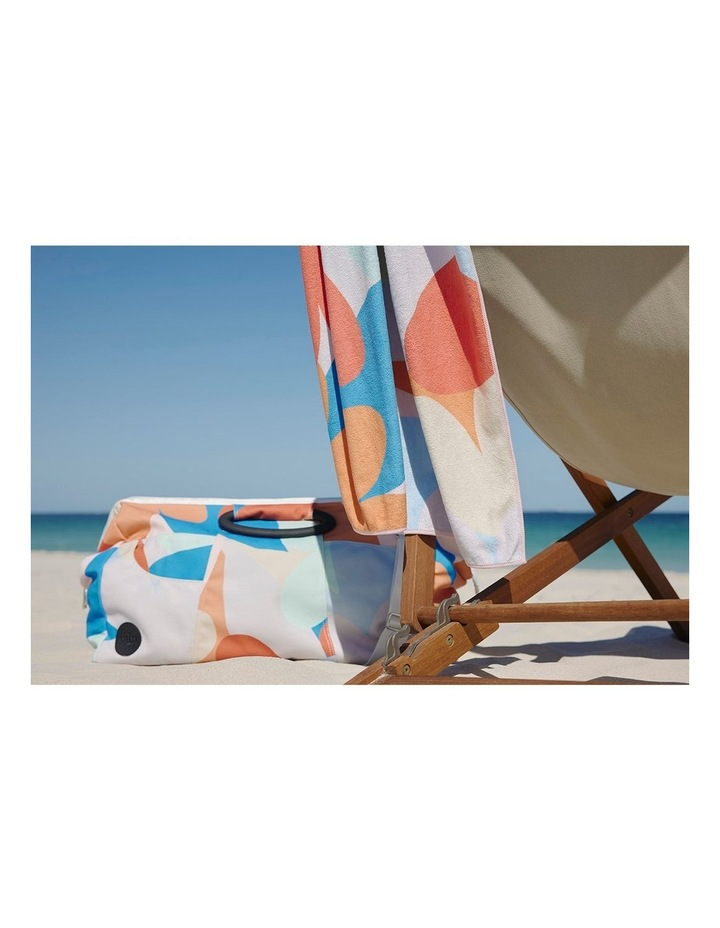 Footloose Large Microfibre Beach Towel - Riviera image 5