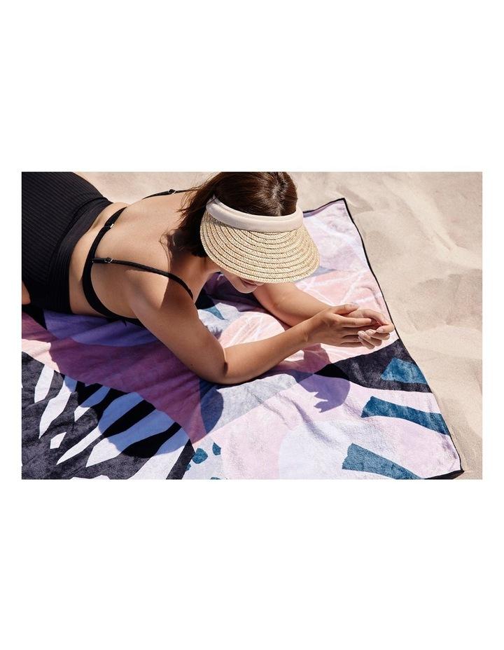 Footloose Large Microfibre Beach Towel - Dusk image 2