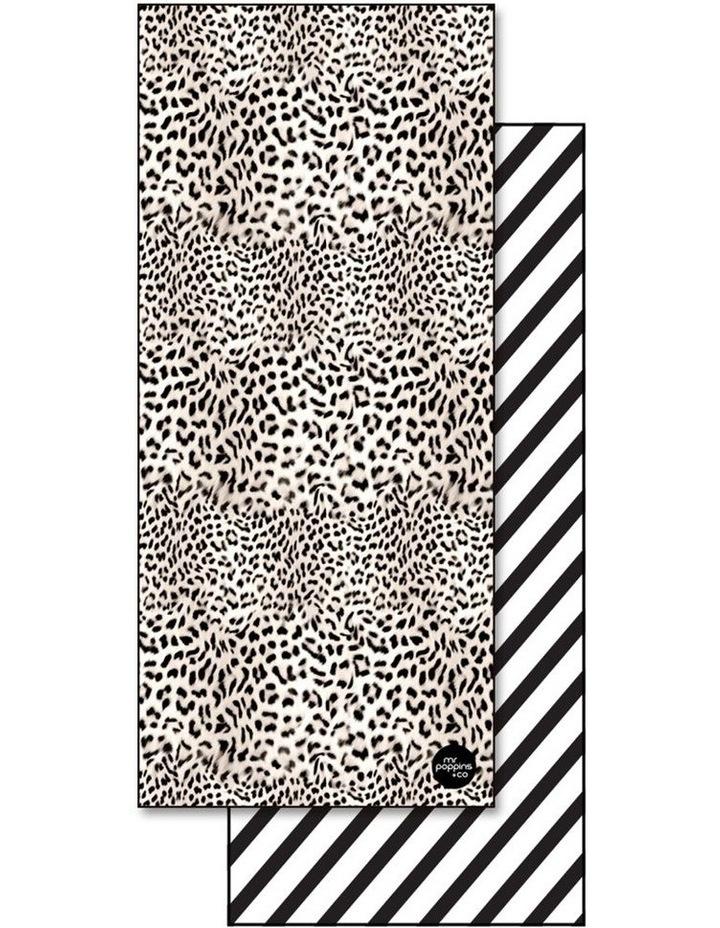 Footloose Large Microfibre Beach Towel - Cheetah image 1