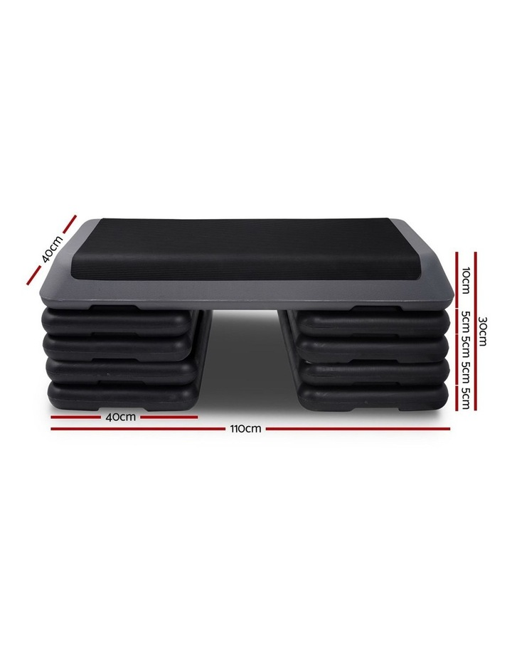 Aerobic Step Gym Fitness Workout Exercise Block 5 Level Bench image 2