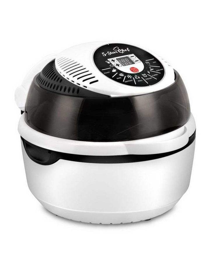 10L 8 Function Convection Oven Cooker Air Fryer - White image 1