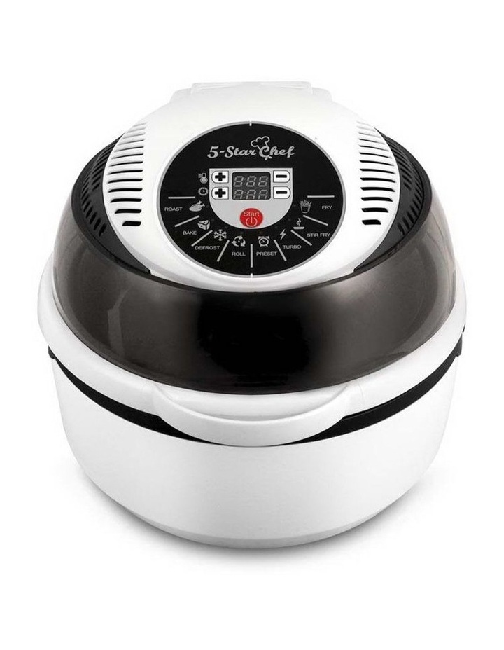 10L 8 Function Convection Oven Cooker Air Fryer - White image 5