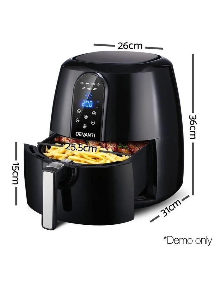 7L Oil Free Air Fryer - Black image 2