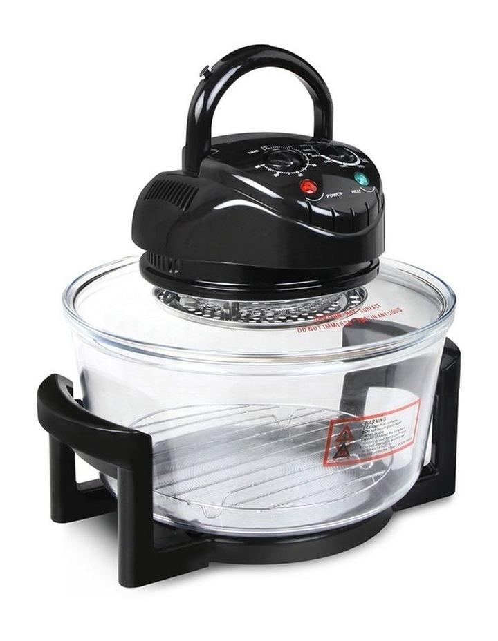17L Electric Convection Oven Air Fryer - Black image 1