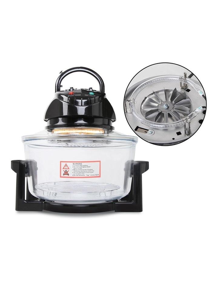 17L Electric Convection Oven Air Fryer - Black image 3