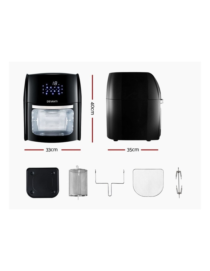 9L Air Fryer LCD Digital Low Oil Deep Frying Oven Healthy Kitchen Cooker image 3