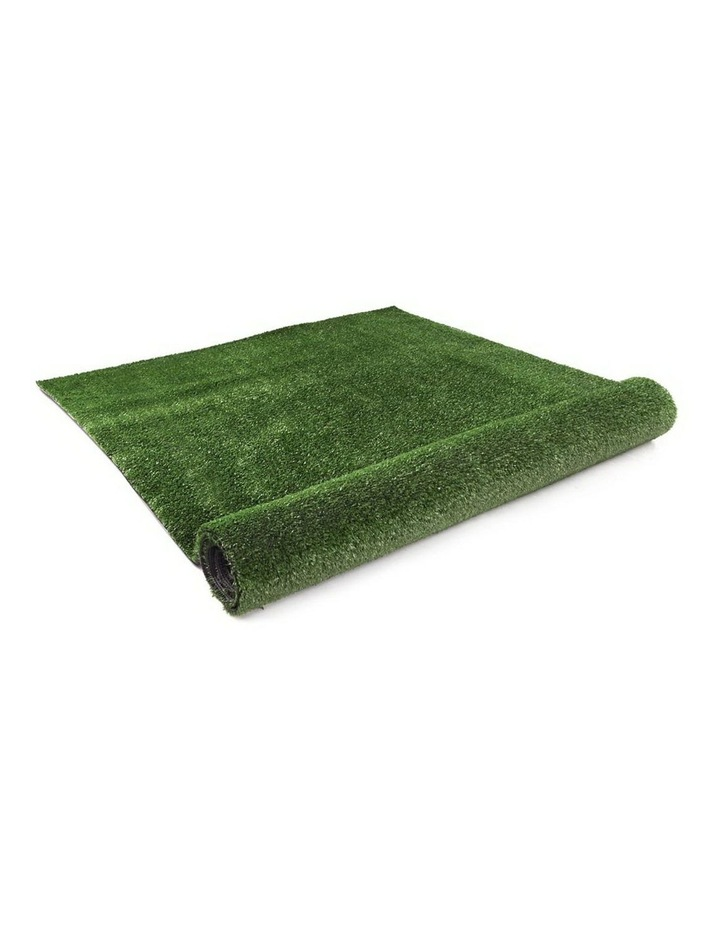 Primeturf 2X10M Synthetic Artificial Grass Fake Turf Olive Plants Plastic Lawn 10mm image 3
