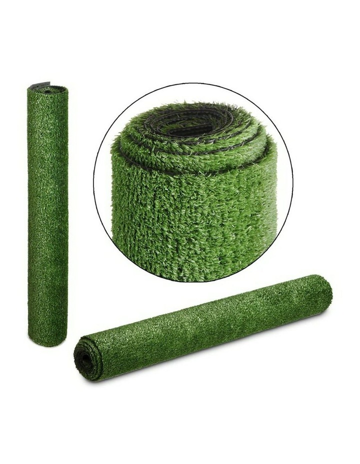 Primeturf 2X10M Synthetic Artificial Grass Fake Turf Olive Plants Plastic Lawn 10mm image 4