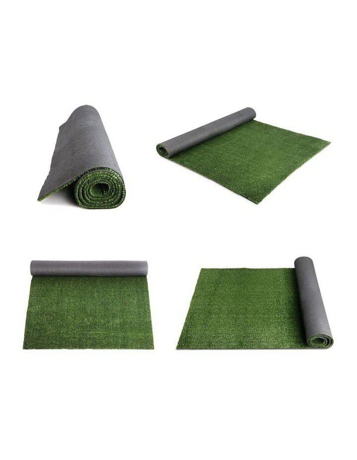 Primeturf 2X10M Synthetic Artificial Grass Fake Turf Olive Plants Plastic Lawn 10mm image 5