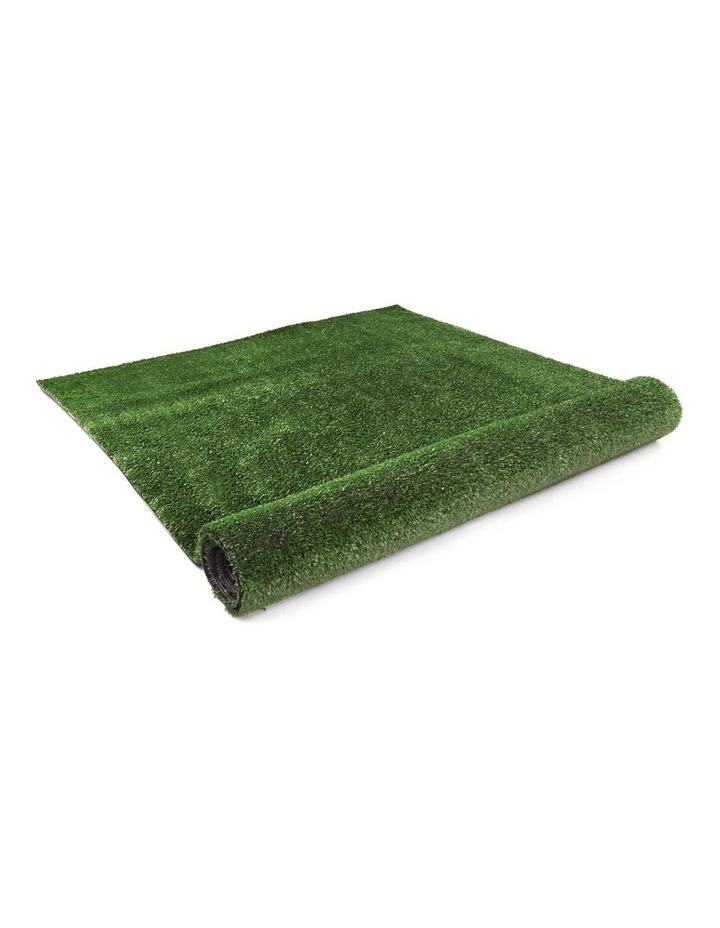 Primeturf 1X10M Synthetic Artificial Grass Fake Turf Olive Plants Plastic Lawn 15mm image 3