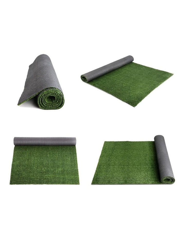 Primeturf 1X10M Synthetic Artificial Grass Fake Turf Olive Plants Plastic Lawn 15mm image 5