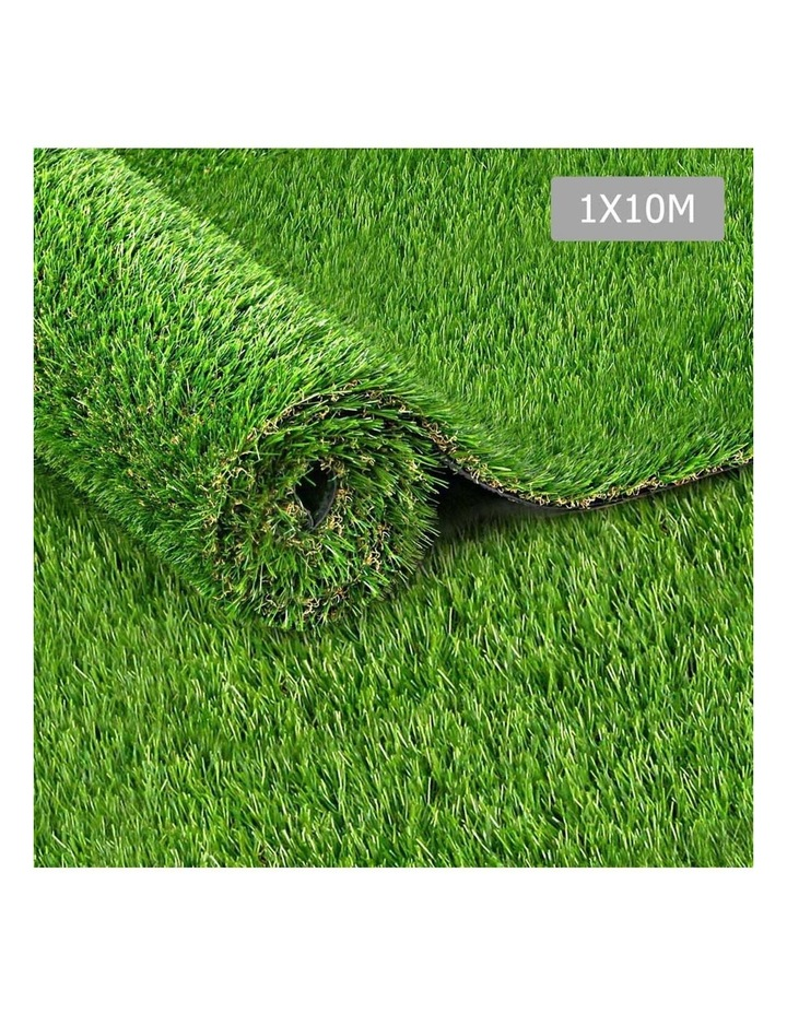 Primeturf 1X10M Synthetic Artificial Grass Fake 10SQM Turf Plastic Plant Lawn 20mm image 1