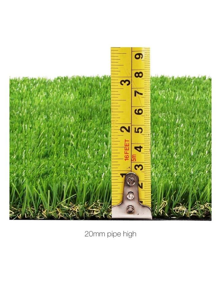 Primeturf 2X5M Synthetic Artificial Grass Fake 10SQM Turf Plastic Plant Lawn 20mm image 2
