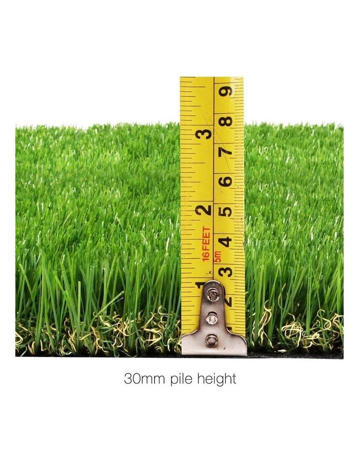 Primeturf 1X5M Synthetic Artificial Grass Fake 10SQM Turf Plastic Plant Lawn 30mm image 2