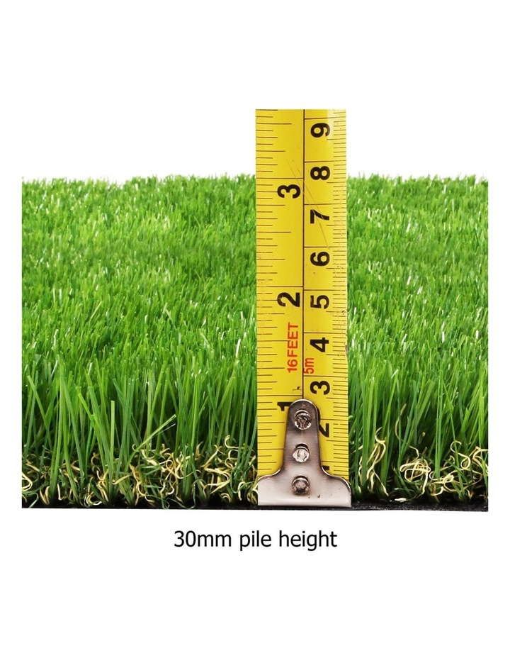 Primeturf Artificial Synthetic Grass 1 x 10m 30mm - Natural image 2