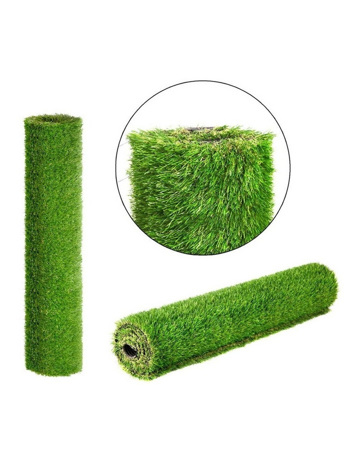 Primeturf 1X5M Synthetic Artificial Grass Fake 5SQM Turf Plastic Plant Lawn 40mm image 3