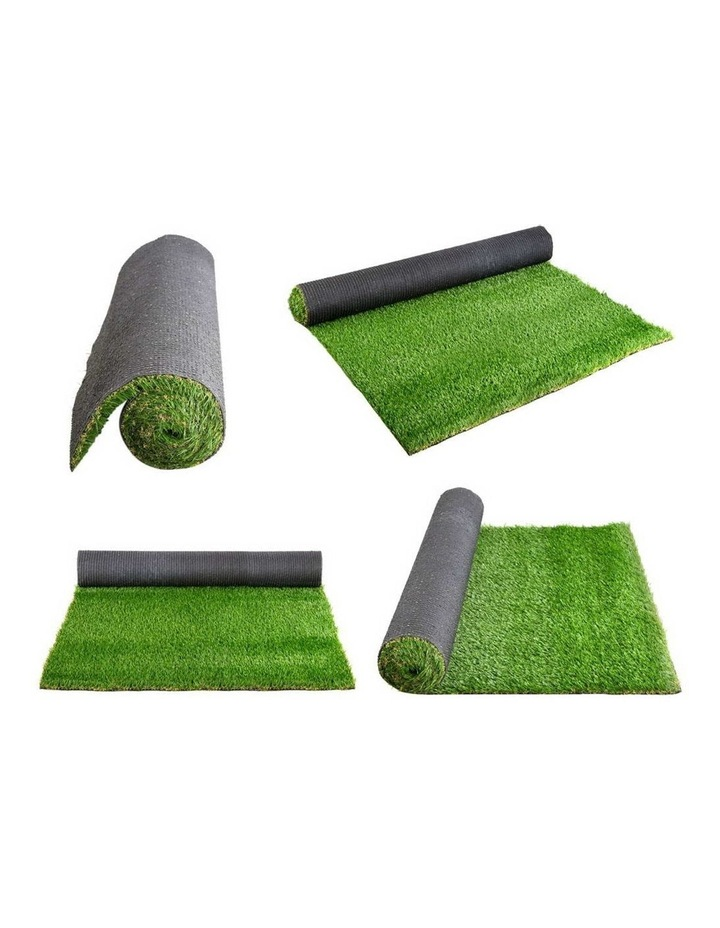 Primeturf 1X5M Synthetic Artificial Grass Fake 5SQM Turf Plastic Plant Lawn 40mm image 4