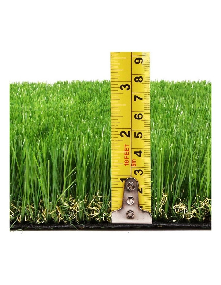 Primeturf 1X10M Synthetic Artificial Grass Fake 10SQM Turf Plastic Plant Lawn 40mm image 2