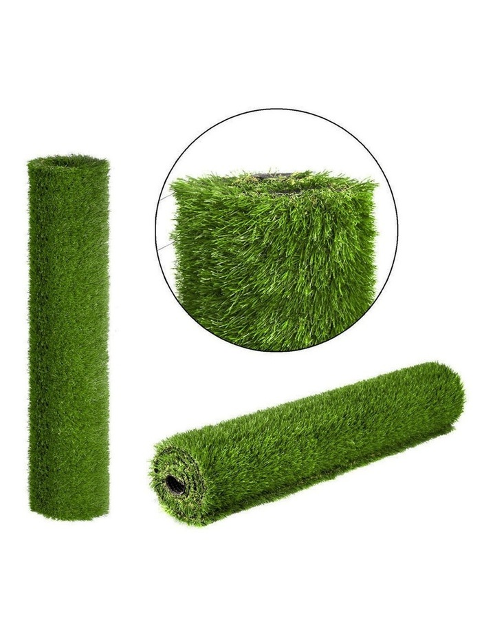 Primeturf 2X5M 30mm Synthetic Artificial Grass Fake 10SQM Turf Plastic Plant Lawn image 3