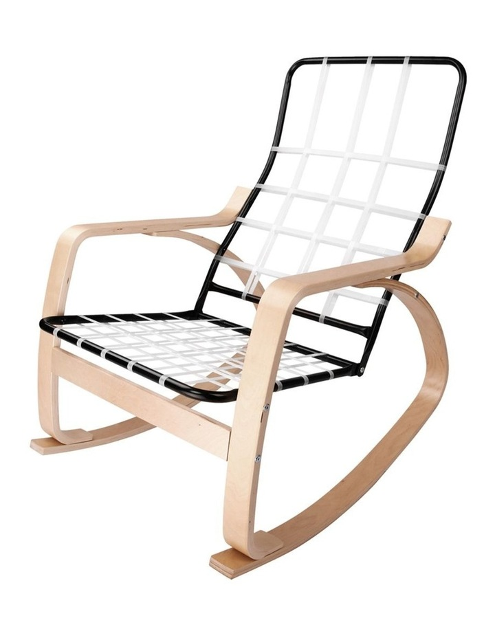 Wooden Armchair With Foot Stool image 4