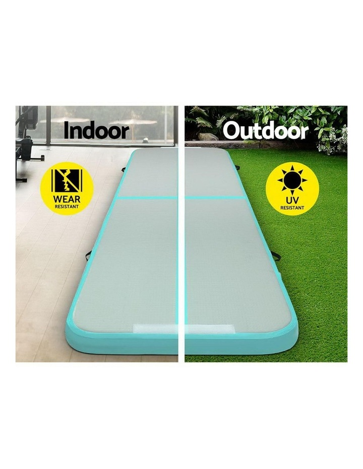 GoFun 3X1M Inflatable Air Track Mat with Pump Tumbling Gymnastics Green image 5
